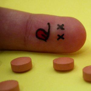 Fallecido por sobredosis de píldoras