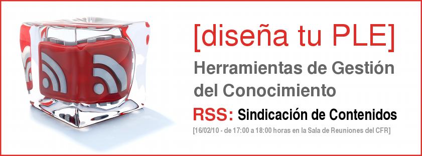 Consorcio Fernando de los Ríos. Formación Flash: RSS