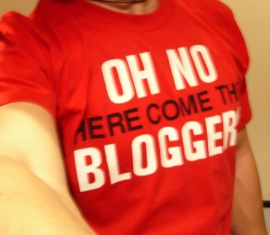 Oh No! Here Come the Blogger